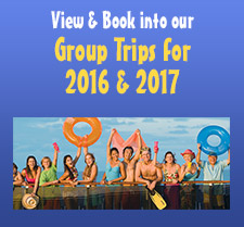View and Book into our Group Trips for 2015 and 2016