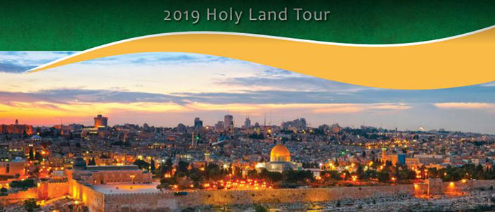 2019 Holy Land Tour