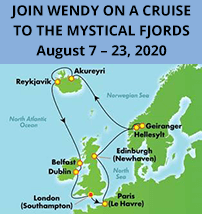 Join Wendy On A Cruise To The Mystical Fjords