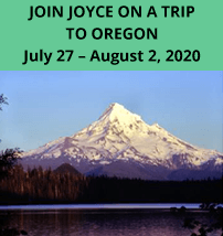 Join Joyce On A Trip To Oregon